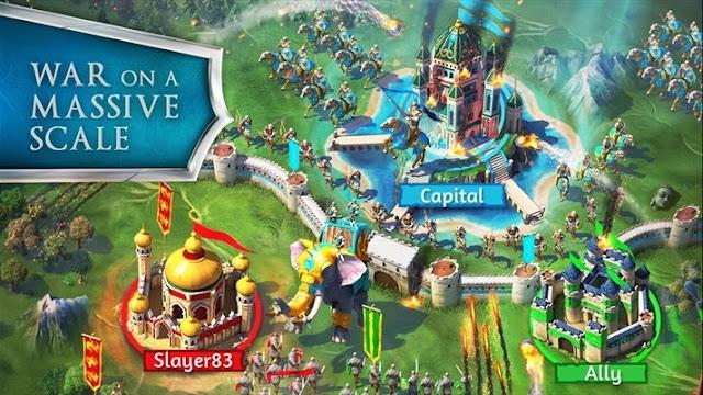 gameloft march of empire war on a massive scale