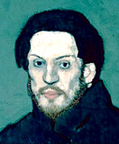 Histoire d arts picasso biographie et pr sentation des 4 autoportraits - La chambre bleue picasso ...