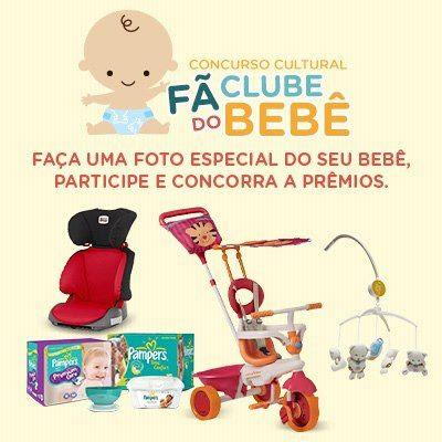 """Concurso Cultural """"Fã Clube do Bebê"""""""