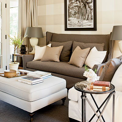 Trove interiors southern living idea house for Southern living keeping room ideas