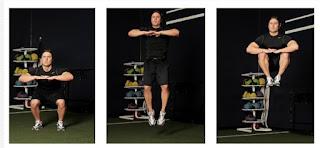 Knee Tuck Jump | 3 Set 10-12 Repetisi