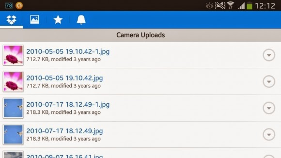 how to stop my phone from automatically uploading to dropbox