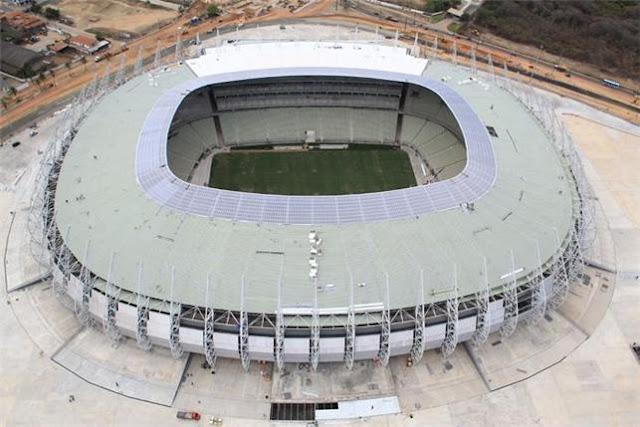 Arena Castelão quase pronto