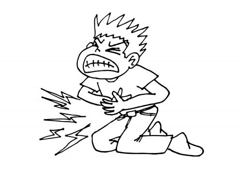 volafilerge vondt i magen etterx