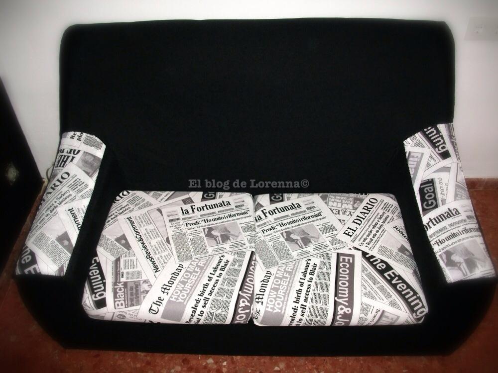 El blog de lorenna tapizar un sof low cost - Tapizar butaca paso a paso ...