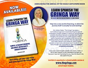 NOW AVAILABLE: LEARN SPANISH THE GRINGA WAY