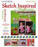 I was published as a cover girl on Lets get sketchy sketch inspired magazine/2013