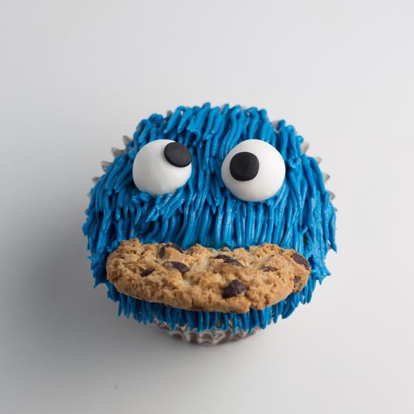 Cupcakes del Monstruo come Galletas