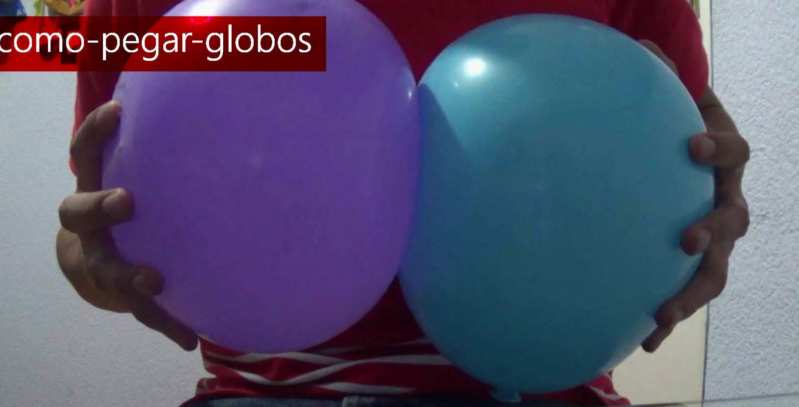 como pegar globos