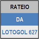 LOTOGOL 627 - MINI RATEIO