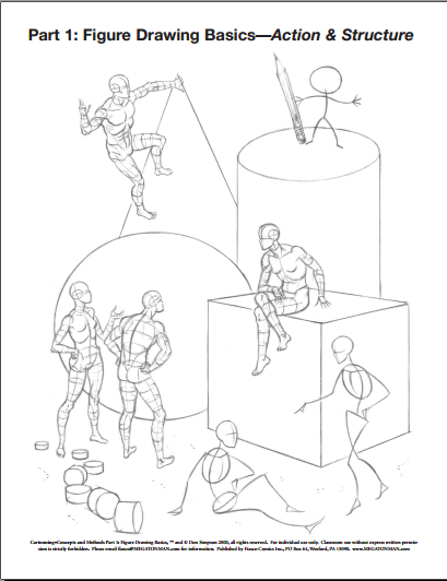 Basic School Drawing Figure Drawing Basics a Book