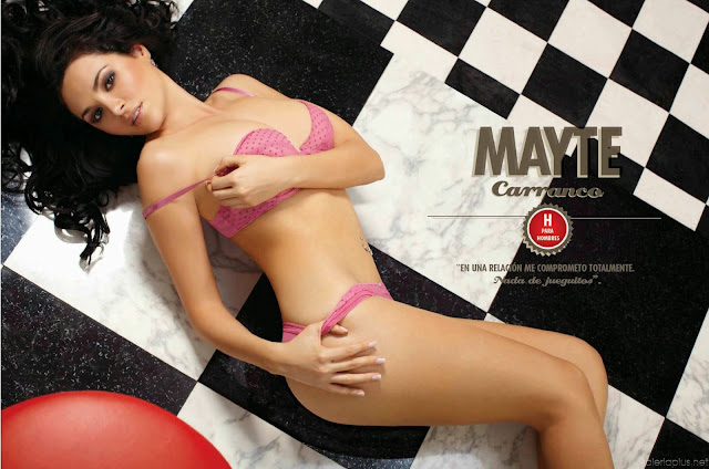 Fotos Mayte Carranco Revista H para Hombres México Junio 2011