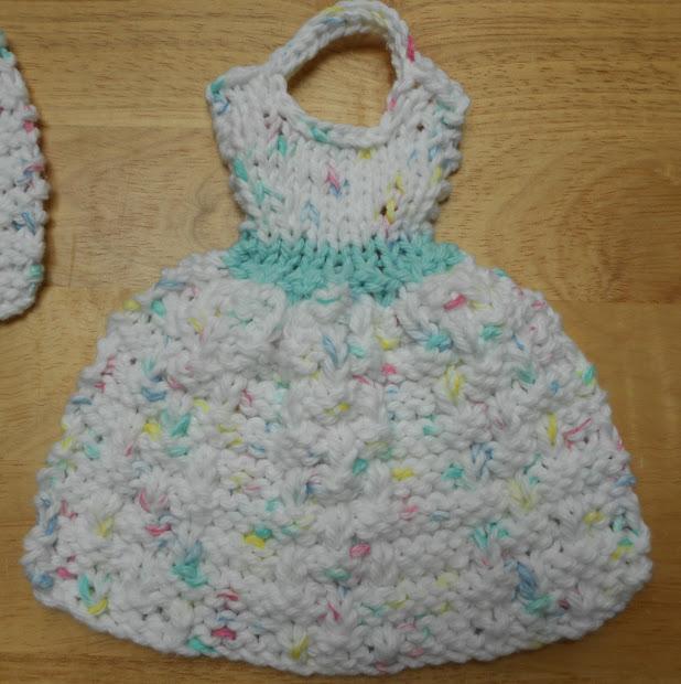 How To Crochet Dishcloth Dresses Vtwctr