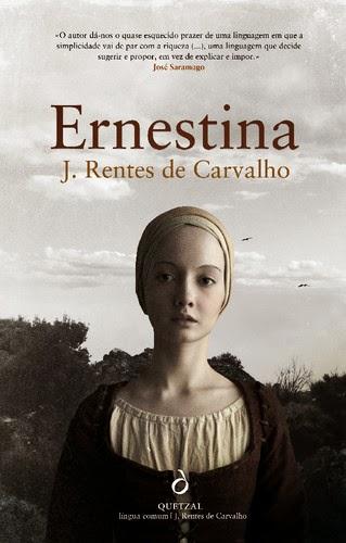 Ernestina, José Rentes de Carvalho, Capa, Nova Edição