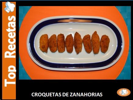 RECETA- CROQUETAS ZANAHORIAS