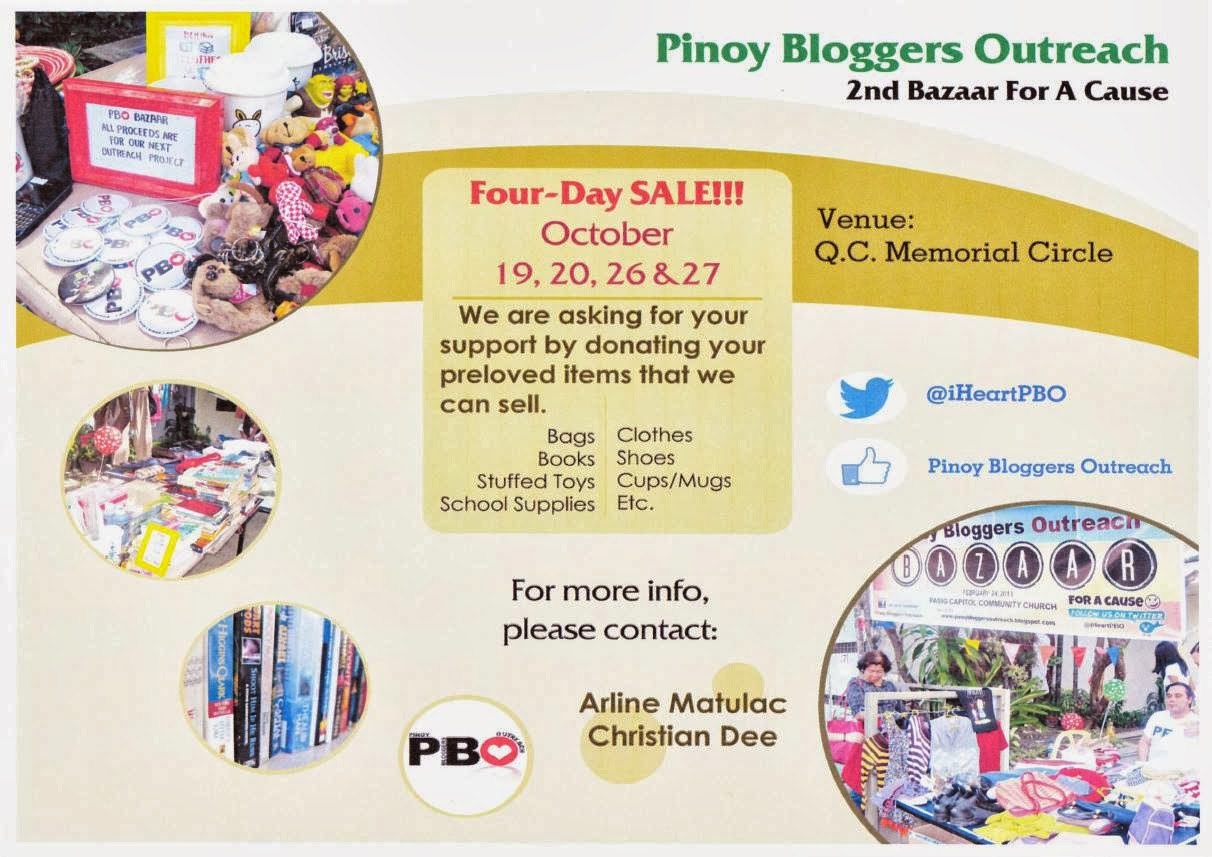 PBO Bazaar for a Cause