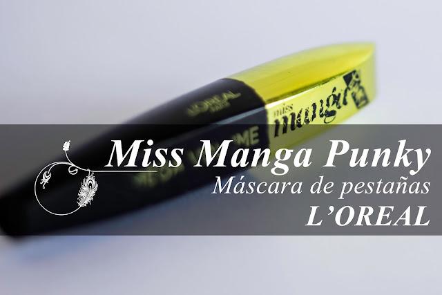 Máscara de pestañas Miss Manga Punky de L'Oreal
