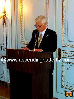 Ambassador Sumio KUSAKA, Consul General of Japan in New York, Sake + Urushi of Northern Japan, 2013 Ninohe City Fair in New York City