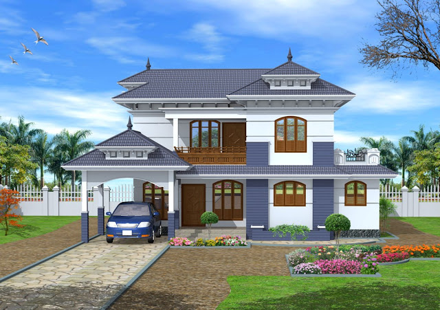 Dr archisolutions 2235 sq ft traditional kerala style for 1st floor balcony design