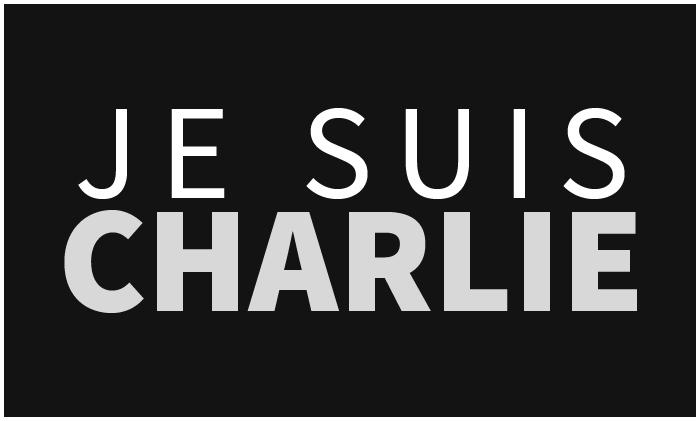 Poster, logo de Je suis Charlie. Atentado terrorista a la revista francesa Charlie Hebdo | Ximinia