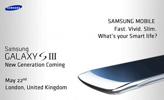 Samsung Galaxy S3 bakal dilancarkan