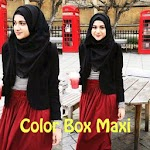GC1891 Color Box Maxi + Pashmina SOLD OUT