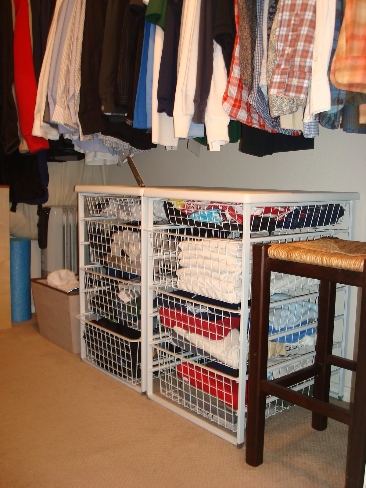 Deep Closet Organization Ideas Part - 48: Morganize With Me