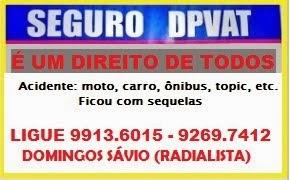 EM CASO DE ACIDENTE