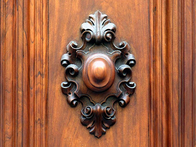 Wooden door handle, Livorno