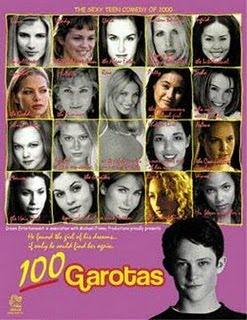 Filme Poster 100 Garotas DVDRip XviD Dual Audio & RMVB Dublado
