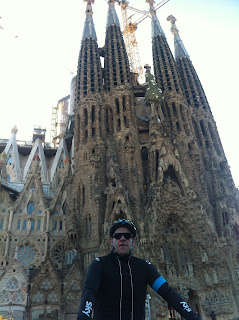 Road cycling in Barcelona with Montefusco Cycling