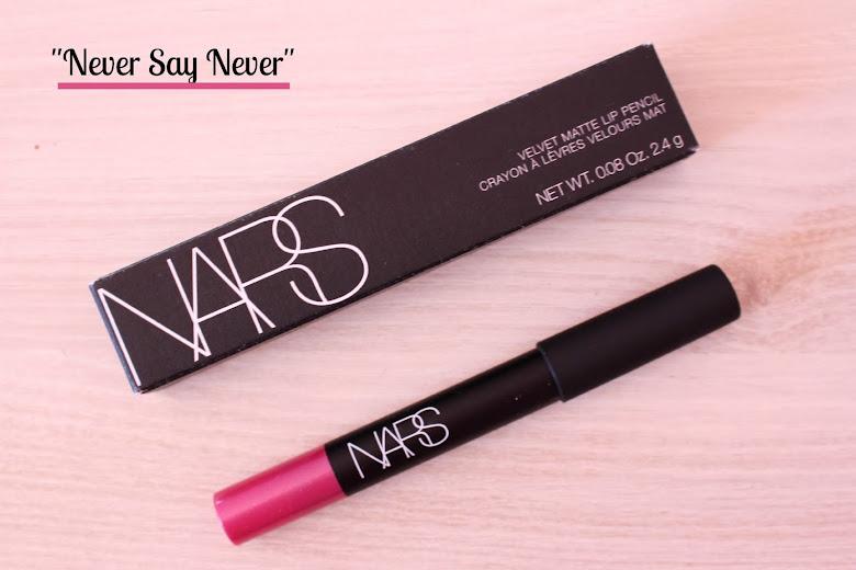 "Crayon à lèvres velours mat ""Never Say Never"" Nars"