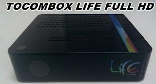 NOVA ATUALIZAÇÃO TOCOMBOX LIFE FULL HD V4.14 61W KEYS  -- 28/04/2015