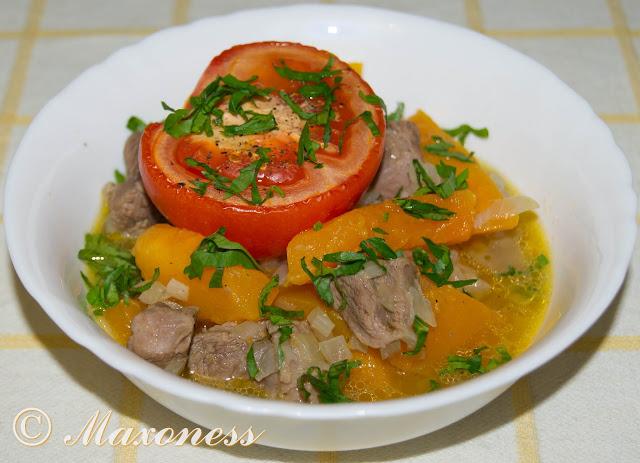 Пастынер с тыквой. Армянская кухня