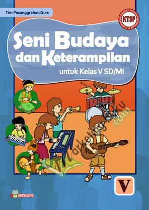 Buku Pelajaran Seni Budaya dan Keterampilan SD Kelas 5