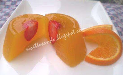 Gelo di agrumi antiage ricetta dolce light