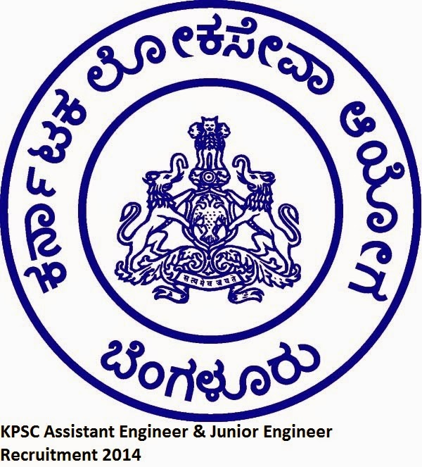 KPSC Assistant Engineer & Junior Engineer Recruitment 2014 for 550 Posts-Apply Online on kpscapps.com or kpsc.kar.nic.in