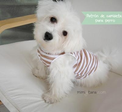 patrones de camiseta para perro
