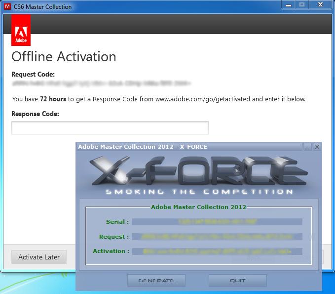 X-force keygen Cs6 Mac download