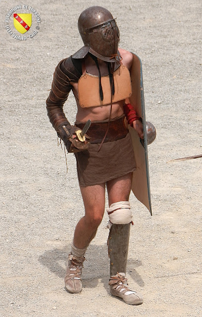 GRAND (88) - Les gladiateurs dans l'arène ! - Secutor