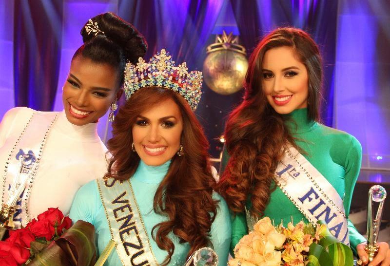Miss Venezuela Mundo World 2014 winner Debora Sacha Menicucci Anzola