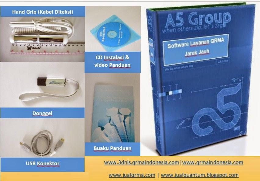 komponen qrma yang anda dapatkan pada saat membeli qrma dari www.jualqrma.com