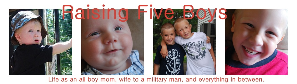 Raising Five Boys