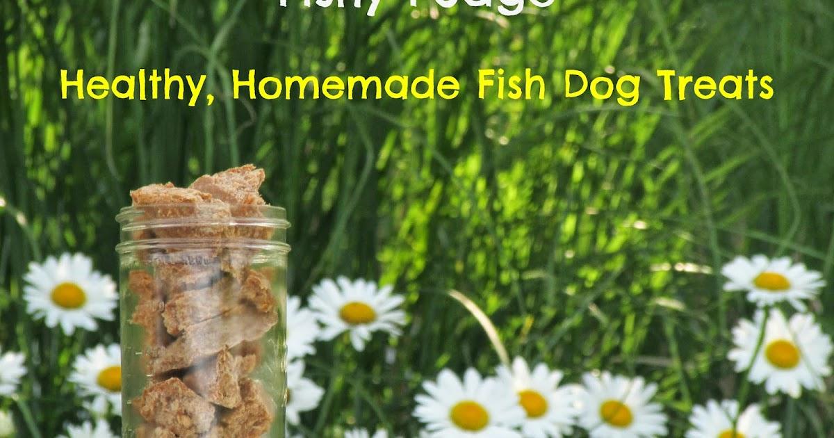 My rotten dogs fishy fudge healthy homemade fish dog treats for My dog s breath smells like fish
