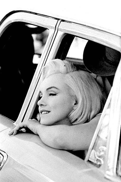 Marilyn Monroe en el set de  The Misfits (1960)