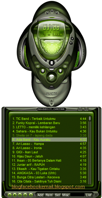 Invicta Skin winamp Download