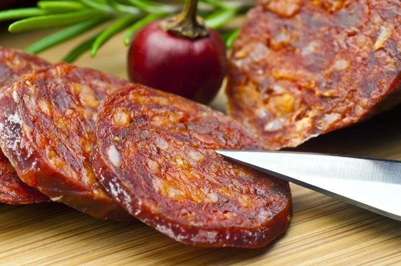 Chorizo casero del kit El Cocinista