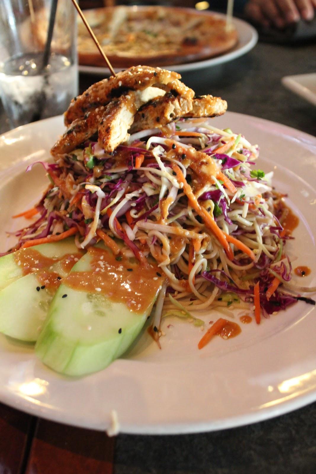 gardein™ THAI CHICKEN NOODLE SALAD - egg noodles, grilled chicken ...