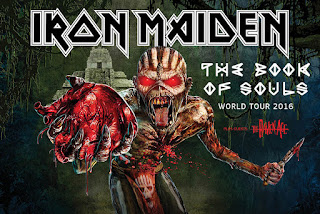 Iron Maiden discount tickets - The Book Of Souls World Tour - 2016