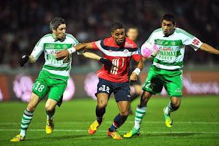 LIGUE 1 St-Étienne-Lille (2-0) : les Verts sont dans la course